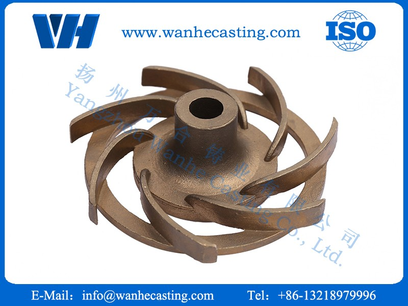 Function of copper casting and deburring method